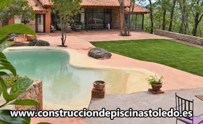 Construcción Piscinas de Arena Toledo