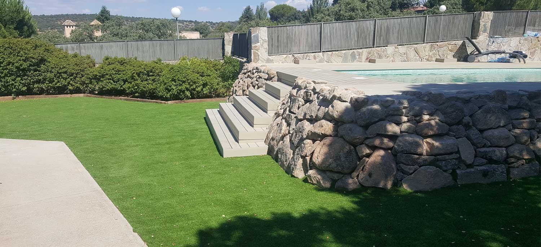 Ampliar Construcción Piscinas de Obra de Gresite Toledo