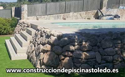 Construcción Piscinas de Obra de Gresite Toledo